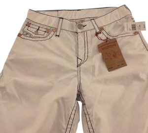True Religion Board Shorts White