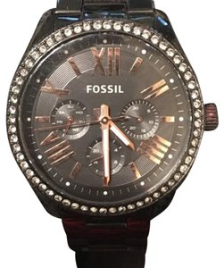 Fossil Ceclie Multifunction Black Stainless Steel Watch