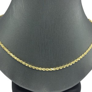 14K Yellow Gold Rope Chain ~2.50mm 20 Inches