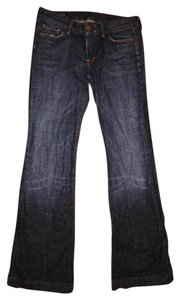 Citizens of Humanity Stretchy Flare Leg Jeans-Distressed