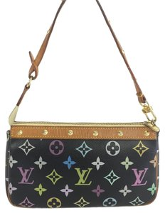 Louis Vuitton Lv Pochette Multicolor Clutch