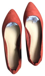 Forever 21 Rust red Flats