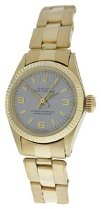 Rolex Vintage Ladies Rolex Oyster Perpetual 6618 Automatic Solid 14K Gold