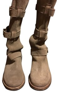 Steve Madden Tall Suede Leather Tan Boots
