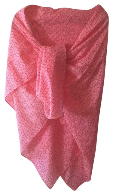 Item - Pink/Orange Cover-up/Sarong Size OS (One Size)