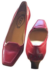 Tod's Pel rosso red Pumps