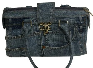 MIT Satchel in Denim