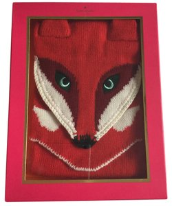 Kate Spade kate spade fairytale red fox wool scarf