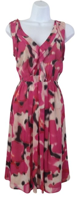 Ann Taylor LOFT short dress Pink on Tradesy