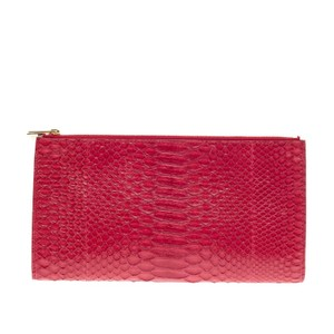 Cline Celine Python Red Clutch