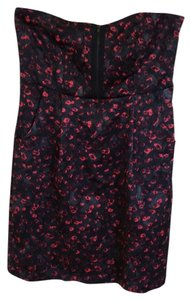 Silence + Noise Strapless Party Floral Dress