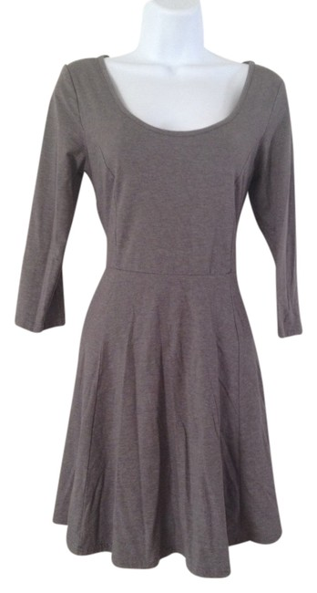 H&M short dress Grey on Tradesy