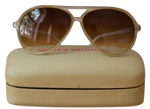 Matthew Williamson Jackie O. Aviator Sunglasses
