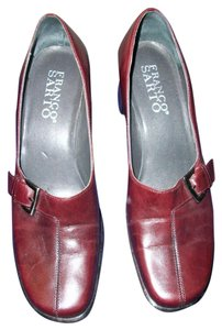 Franco Sarto Burgundy Pumps