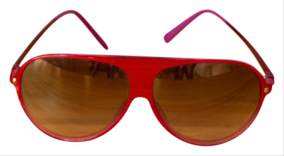 e1520935ae Dior Red Violet Aviator Les Marquises Collection Sunglasses - Tradesy