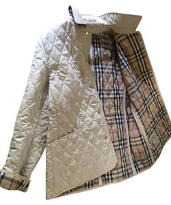 Burberry London Quilted Beige Jacket