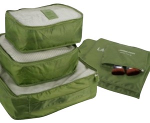 Travel Luggage Organizer/Pouch Green Travel Bag