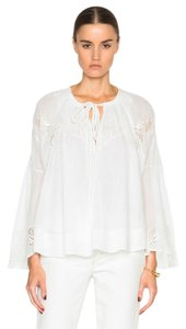 IRO Haute Hippie Tory Burch Dvf Zimmermann Isabel Marant Top White