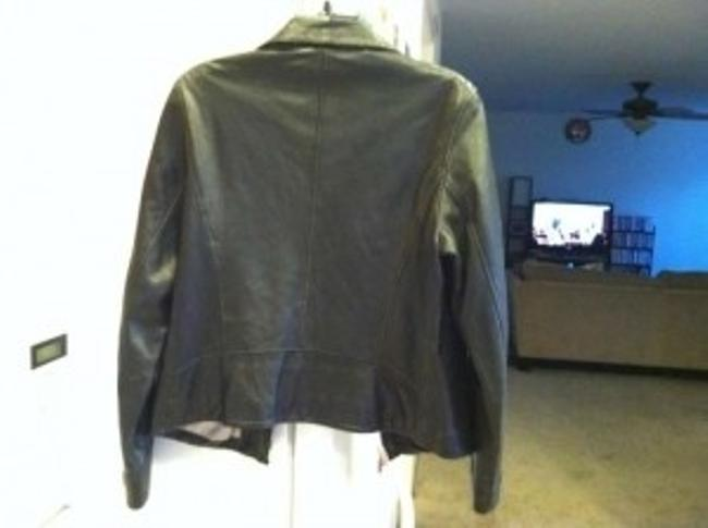 Guess Vintage Aged In A Good Way Leather Jacket