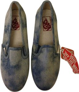Vans Acid Wash Slip On Denim Athletic