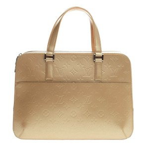 Louis Vuitton Vernis Satchel in Ambre Gold