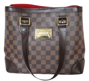 Louis Vuitton Damier Canvas Hampstead Pm Tote in Damier Ebene