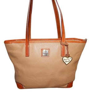 Dooney & Bourke And Pebbled Leather Tote Shoulder Bag