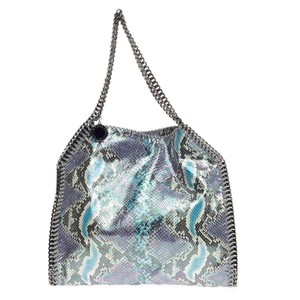 Stella McCartney Faux Tote in Blue and Purple