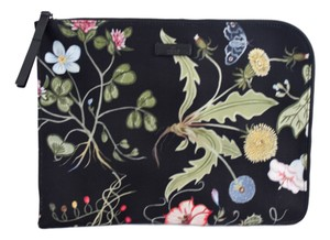 Gucci 353480 Travel Case Flower Print Travel Bag