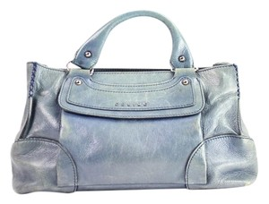 Céline Satchel in blue