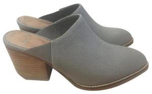 Shellys London Gray Mules