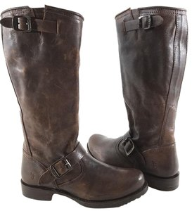 Frye Style #77609 Rugged Leather Brown Boots