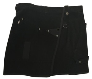 Burberry Black Courderoy Skirt
