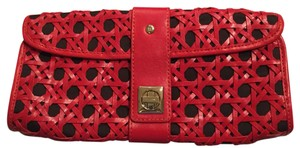 Kate Spade Black And Red Clutch