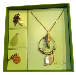 Sigrid Olsen Necklace and charms set