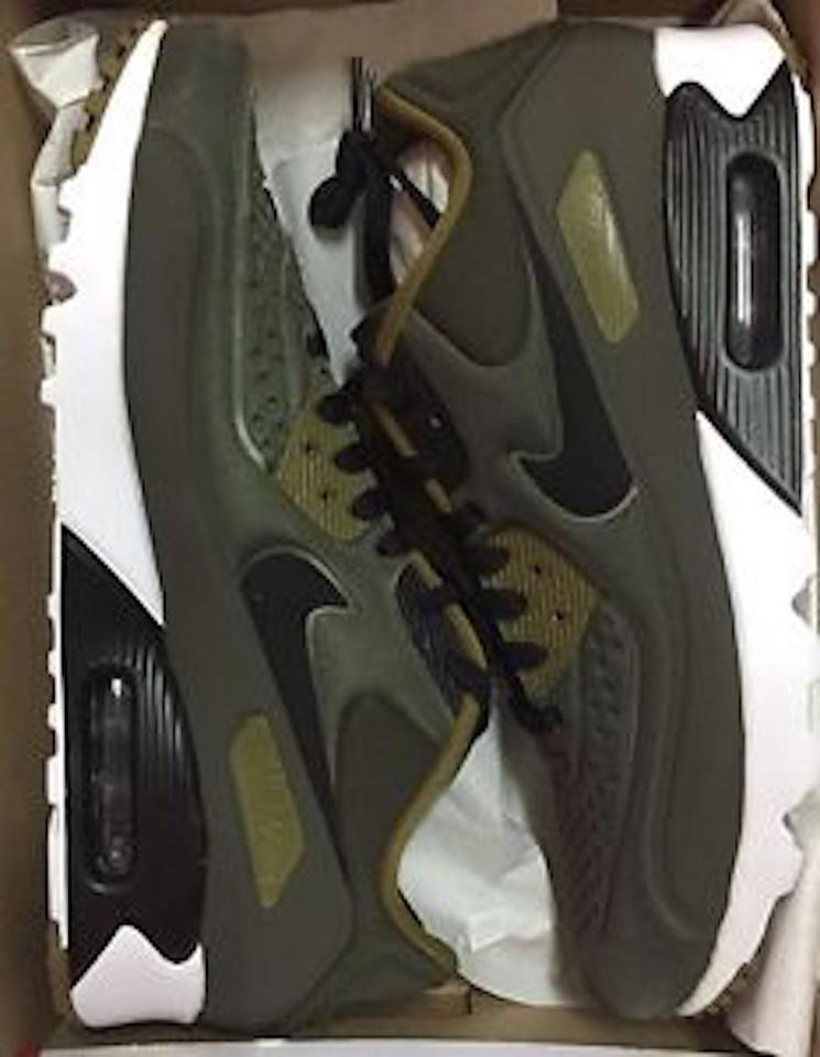c31fbf3feb Nike Khaki Air Max 90 Ultra Se Neoprene Green Sneakers Size US 9 ...