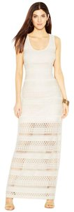 Off-white Maxi Dress by Guess Crochet