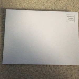 80 White Envelopes