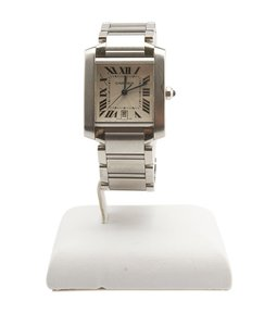 Cartier Cartier, Tank, 2302, Stainless, Steel, Automatic, Watch, 96896