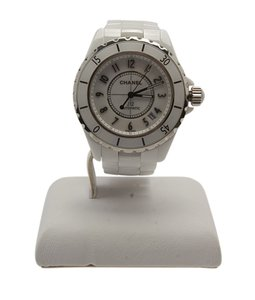 Chanel Chanel, J12 White, Ceramic, Stainless, Steel, 40mm, Automatic, Watch