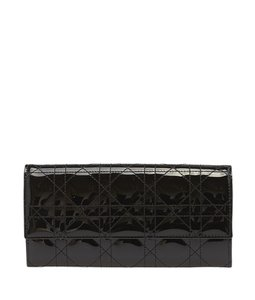 Dior Christian Quilted Black Clutch