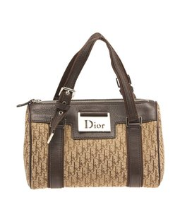 Dior Christian Satchel in Brown