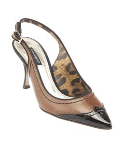 Dolce&Gabbana Dolce & Gabbana Brown Black Pumps