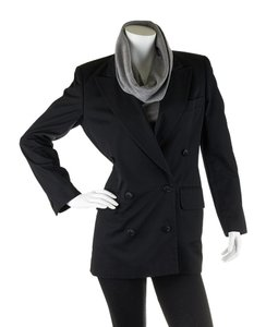 Escada Cotton Black Blazer