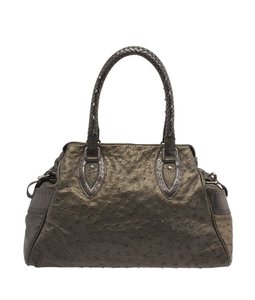 Fendi 8bn162 De Jour Grey Shoulder Bag