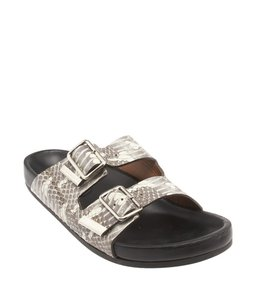 Givenchy Birkenstock Grey Gray Sandals