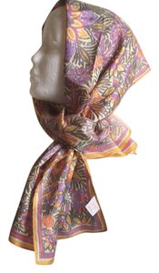 Glentex Print Beautuful Colors Artsy Head Neck Scarf