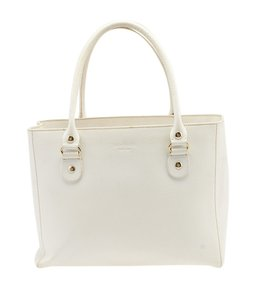 Kate Spade Leather Tote in White