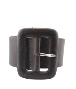 Streets Ahead Streets Ahead, Grey, Leather, Belt, Size Xs