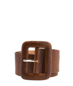 Streets Ahead Streets Ahead, Brown, Leather, Belt, Size Xs